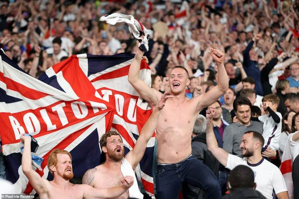 British football fans polled, 75 per cent are ready to rejoin the stadium
